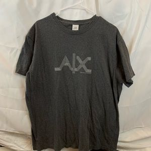 Armani exchange grey shirt